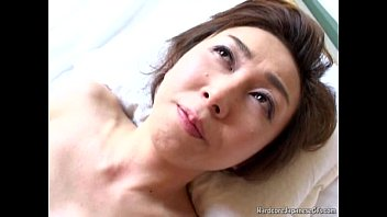 Hairy asian girlfriend Sultry japanese milf tastes some hard pounding sex