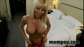 Blonde cream mature movie pie