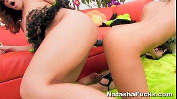 Natasha Nice'_s 1st Anal with Asa