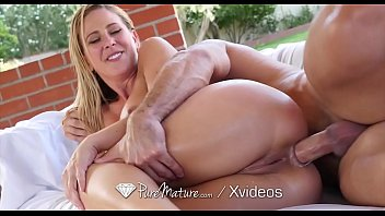 PUREMATURE Step mom discovers BIG ANAL secret