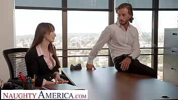 Naughty America - Lexi Luna Wants To Fuck Her Friend's Husband In The Office!!!