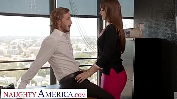 Naughty America - Lexi Luna wants to fuck her friend's husband in the office!!! 6分钟
