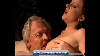 Older men having sex pictures Young girl takes old man dick
