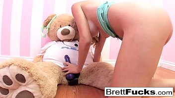 Brett michals with nude girls Busty brett rossi plays with a stuffed bears strap-on dildo