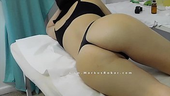 Sexy Brazilian Milf at the Massage Room