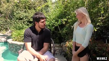 WANKZ- Blonde Country Teen Maddy Rose Gags