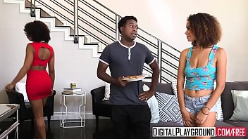 DigitalPlayground - The Learning Curve with (Misty Stone, Raven Redmond)