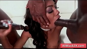 Ebony Chanel Skyes gets double penetration by a BBC - Prince Yahshua & Jax Slayher