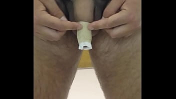 Hydrocorisone cream on glans penis - Still-on video complete