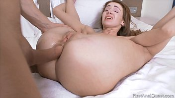 FIRSTANALQUEST.COM - TEEN BEAUTY MELISSA GRAND CAN'T HELP ANAL ITCHING