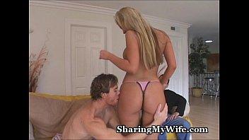 Full figured ass Full-figured wifey enjoys new cum