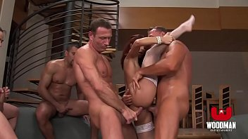 Streaming Video Red Haired bitch gets a Bukkake and Cream pie - HD Gang Bang - XLXX.video
