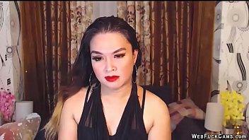 Brunette webcam girl chatting