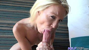 MILF Trip - Sexy blonde MILF takes big fat cock - Part 1