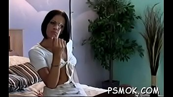 Smoking porn video - Obscene slut pleasing her man whilst smoking a cigarette