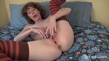 Small breasts redhead - Redhead staci fisting her snatch