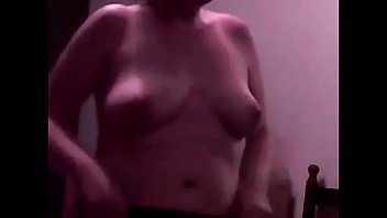 Sexy blonde wife'_s gorgeous tits in slow motion... check out my other videos!