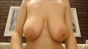Floppy saggy tits bouncing busty squirting cam redhead 63