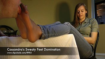 Cassandra's Sweaty Feet Domination - www.clips4sale.com/8983/15844880