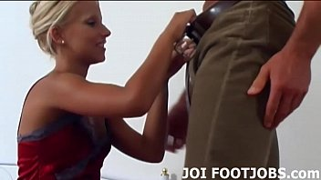 I know all about your footjob fantasy