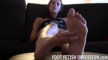 Lick between each one of my pink little toes