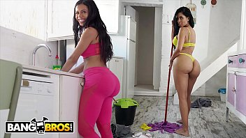 Cleaning house nude services Bangbros - big booty maid canela skin gets fucked by pablo ferrari