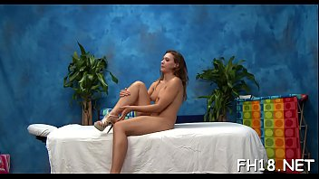 Playgirl with a perfect ass drilled by massage therapist