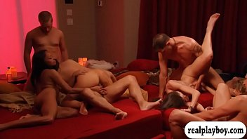 Swapping orgy Couples