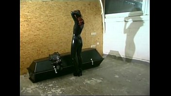 Sexy chick getting tied up and tortured