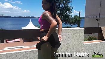 Jeniffer Matrix na Hardbrazil