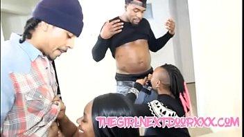 Ebony Freak Get'n Some Meat