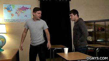 AJ and Cameron Fucks in The Teacher's Classroom