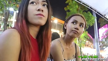 Super tiny 18yo Thai hottie with Bangkok bubble-butt booty rides tuktuk ft. Song thumb
