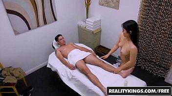 RealityKings - Happy Tugs - (Nari Park) - Asian masseuse cockriding and jerking thumbnail