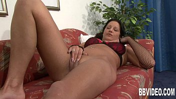 Busty german babe toy her snatch