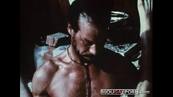 Hairy man with gay cock Scene from the first gay black feature, mr. footlongs encounter 1973