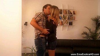 Loving Blonde Babe Erotic Play