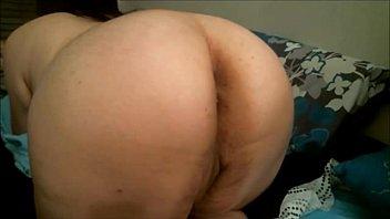 BBW anal toying on webcam