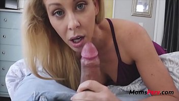 Mom Literally Eats Up Son Before Dad Walks In- Cherie Deville