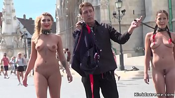 Naked slaves disgraced on the streets pornhub video