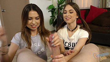 Riley Reid and Melissa Moore Tugjob Rivalry! porn thumbnail