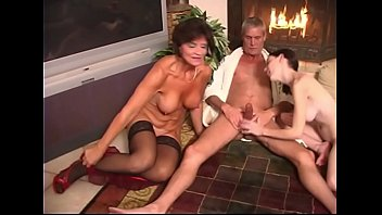 Mom and son sex slut - Real taboo family orgy