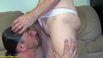 81 years old mom brutal banged by stepson thumbnail