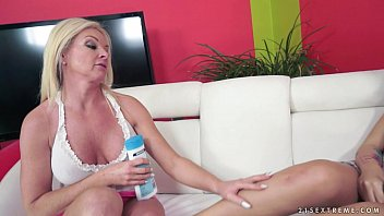 Bella Beretta and her much older mature Girlfriend