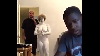 Woman Paints Herself White #whitelivesmatter Full Video Re-upload