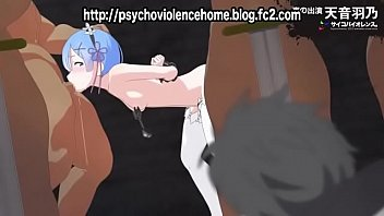 [Sample] Rem is insulted in front of Subaru