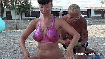 Painted bikini Preview