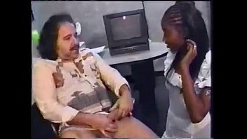 Gorgeous Ebony Girl Sucks And Fucks Ron Jeremy - PORN.COM