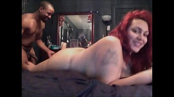 Fat huge breasted tranny Bbw shemale having sex with a black stallion