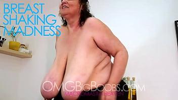 Massive mature BBW woman with big boobs